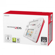 Nintendo 2DS (White és Red) + New Super Mario Bros. 2 3 DS