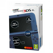 New Nintendo 3DS XL (metal blue) 3 DS