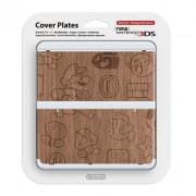 New Nintendo 3DS Cover Plate (Fa hatású) (Cover)