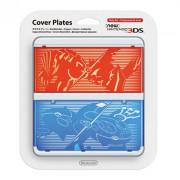 New Nintendo 3DS Cover Plate (Pokémon Omega Ruby/Alpha Sapphire mintázatú) (Cover)