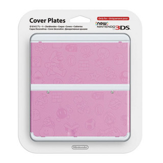 New Nintendo 3DS Cover Plate (pink) (Cover) 3DS