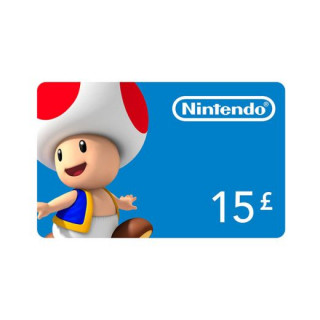 Nintendo eShop dobitná karta 15 Font Multiplatforma