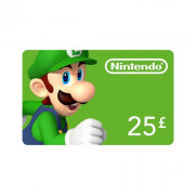 Nintendo eShop dobitná kartaa 25 Font Multi