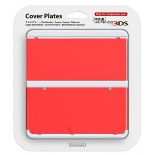 New Nintendo 3DS Cover Plate (Red) (Cover) 3DS