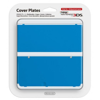 New Nintendo 3DS Cover Plate (Blue) (Cover) 3DS
