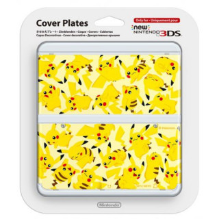 New Nintendo 3DS Cover Plate (Pikachu) (Cover) 3DS