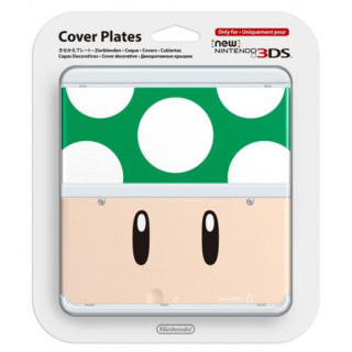New Nintendo 3DS Cover Plate (Gombás, green) (Cover) 3DS