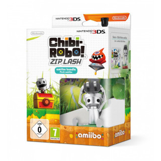 Chibi-Robo! Zip Lash amiibo Bundle 3DS