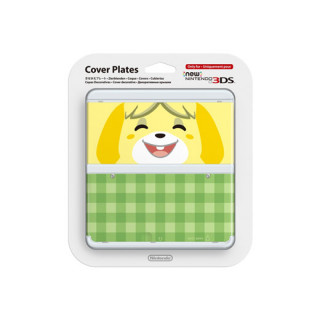 New Nintendo 3DS Cover Plate (Isabelle) (Cover) 3DS