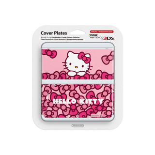 New Nintendo 3DS Cover Plate (Hello Kitty) 3DS