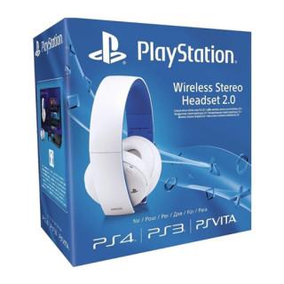 Sony Wireless Stereo Headset 2.0 (7.1 Virtual Surround, White) Multiplatforma