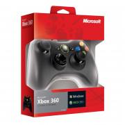 Xbox 360 Vezetékes Ovládač (Black) Multi