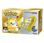 Nintendo 2DS (Priehľadný, Yellow) + Pokémon Yellow Version Special Pikachu Edition 3 DS
