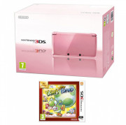 Nintendo 3DS Pink + Yoshi's New Island Select 3 DS