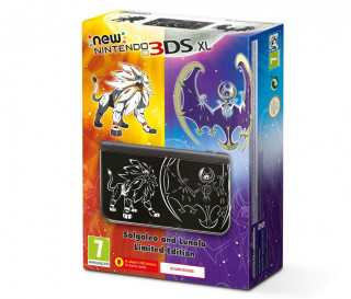 New Nintendo 3DS XL Solgaleo and Lunala Limited Edition 3DS