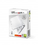 New Nintendo 3DS XL (Pearl White) 3 DS