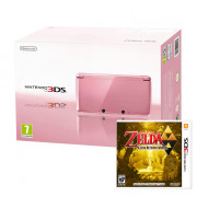Nintendo 3DS (Pink) + The Legend of Zelda A Link Between Worlds 3 DS