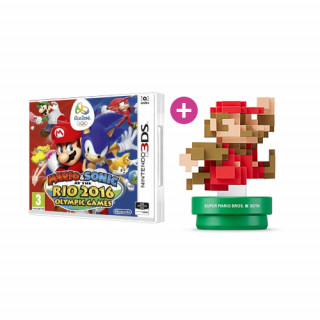 Mario & Sonic at the Rio 2016 Olympic Games + amiibo 30th A.C.Mario 3DS