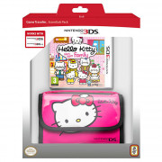 Hello Kitty: Happy Happy Family + 3DS Hordozó tok (pink) 3 DS