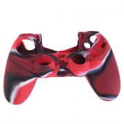 Dualshock 4 szilikontok (camo red) PS4
