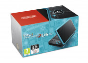 New Nintendo 2DS XL (Black-Turqouise) 3 DS