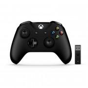 Xbox One bezdrôtový Ovládač (Black) + Adapter pre systém Windows 10
