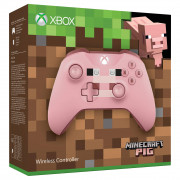 Xbox One bezdrôtový Ovládač (Minecraft Pig Limited Edition) Xbox One