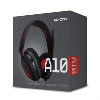 Astro A10 red gaming headset-slúchadlo Multiplatforma