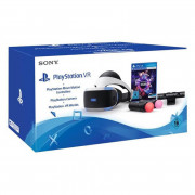 PlayStation VR Headset + Move Motion Controllers + Camera + VR Worlds Bundle