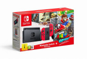 Nintendo Switch Red + Super Mario Odyssey Switch