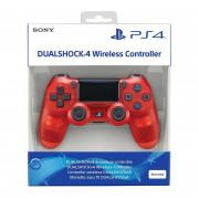 PlayStation 4 (PS4) Dualshock 4 Ovládač (Red Crystal)