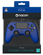 Playstation 4 (PS4) Nacon Wired Compact Ovládač (Blue) PS4