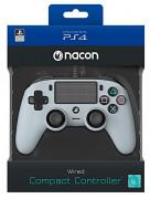 Playstation 4 (PS4) Nacon Wired Compact káblový ovládač (šedý) PS4