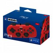 PS4 HoriPad Mini káblový ovládač (červený)