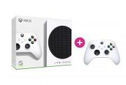 Xbox Series S 512GB + druhý Xbox ovládač (Biely)