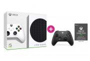 Xbox Series S 512GB + Xbox Game Pass Ultimate na 3 mesiace + druhý Xbox ovládač (Čierny)