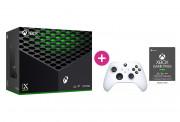 Xbox Series X 1TB + Xbox Game Pass Ultimate na 3 mesiace + druhý Xbox ovládač (Biely)