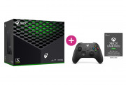Xbox Series X 1TB + Xbox Game Pass Ultimate na 3 mesiace + druhý Xbox ovládač (Čierny) Xbox Series