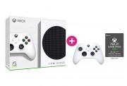 Xbox Series S 512GB + Xbox Game Pass Ultimate na 3 mesiace +  druhý Xbox ovládač (Biely)