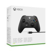 Xbox bezdrôtový ovládač + USB-C kábel