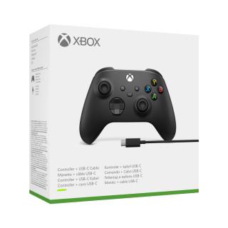 Xbox bezdrôtový ovládač + USB-C kábel Multiplatforma