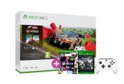 Xbox One S 1TB + Forza Horizon 4 LEGO Speed Champions + FIFA 21 + Gears of War 4 + ovládač (biely)