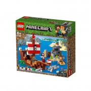 LEGO Minecraft Dobrodružstvo na pirátskej lodi (21152)
