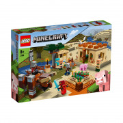 LEGO Minecraft Útok Illagerov (21160)
