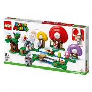 LEGO Mario Toadov hon za pokladom – rozširujúci set (71368)