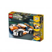 LEGO Creator Oranžové pretekárske auto (31089)