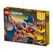 LEGO Creator Ohnivý drak (31102)