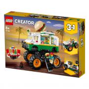 LEGO Creator Hamburgerový monster truck (31104)