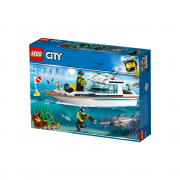 LEGO City Potápačská jachta (60221)