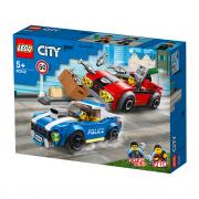LEGO City Policajná naháňačka na diaľnici (60242)